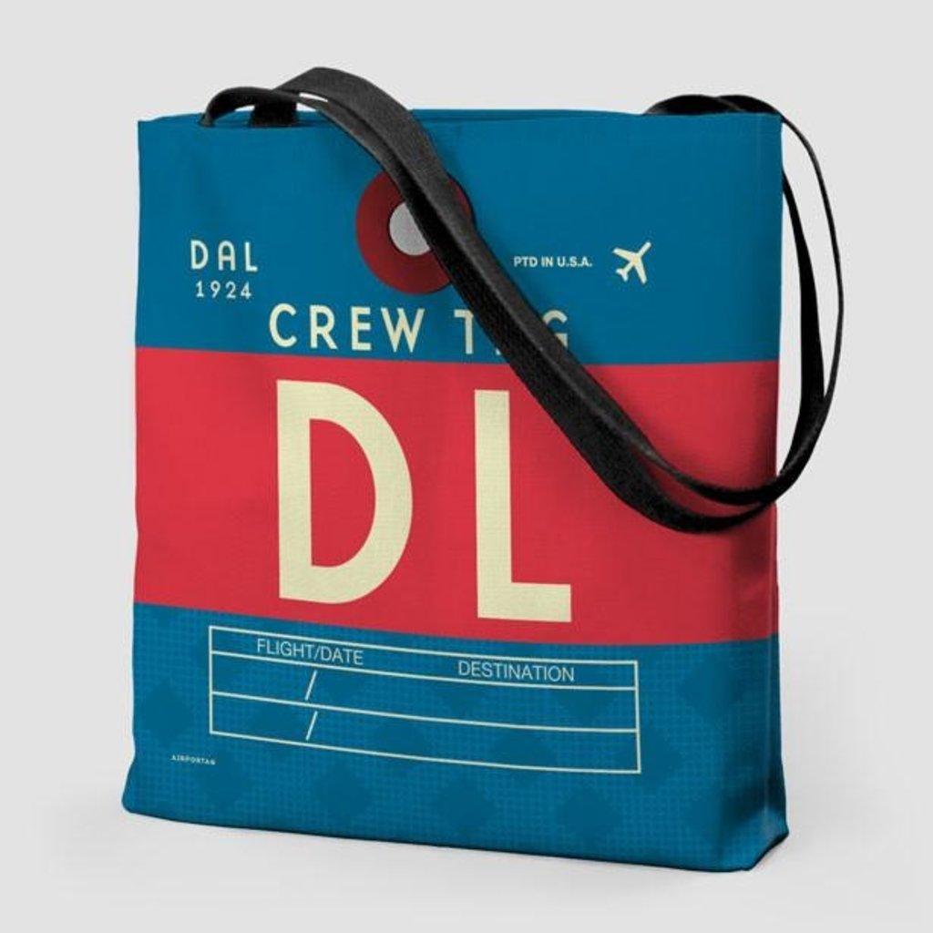 DL Crew Delta Tote Bag