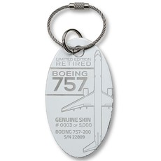 757 Limited Edition PlaneTag