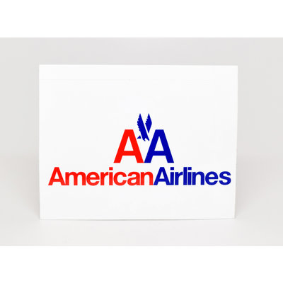 American Classic Logo Sticker