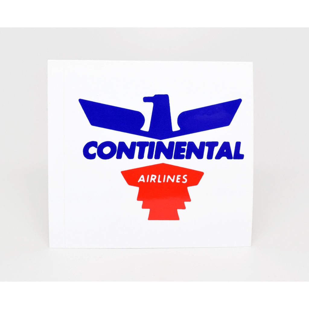 Continental 1950's Eagle  Logo Sticker