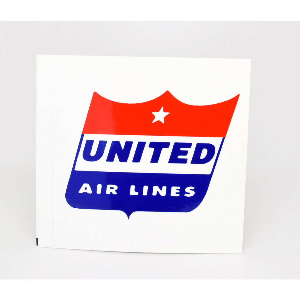 United 50's Shield Logo Sticker