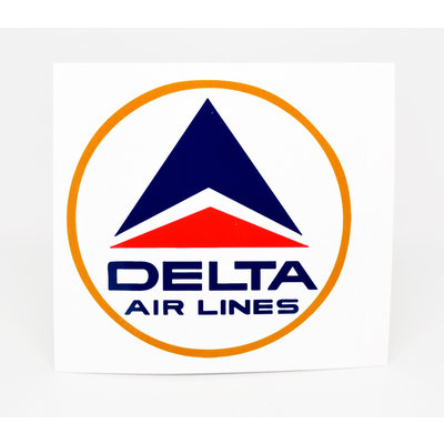Delta Logo Sticker