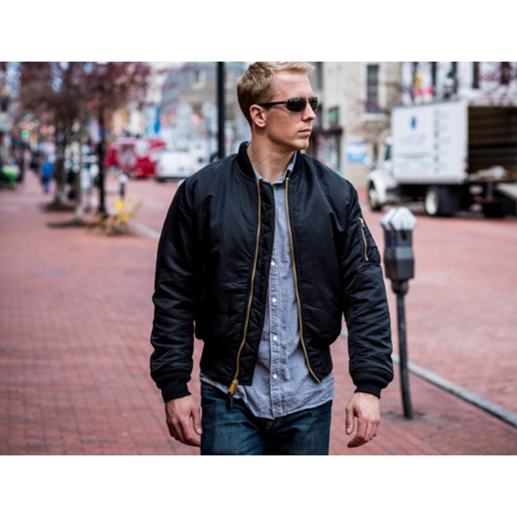 Men's MA-1 Adult Flight Jacket