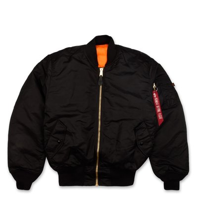 Women's MA-1 Black Flight Jacket