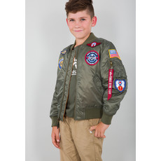 Kids MA-1 Jacket with Patches