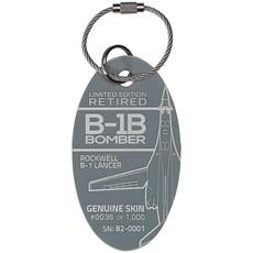 B-1B Bomber PlaneTag Rare  Limited Edition
