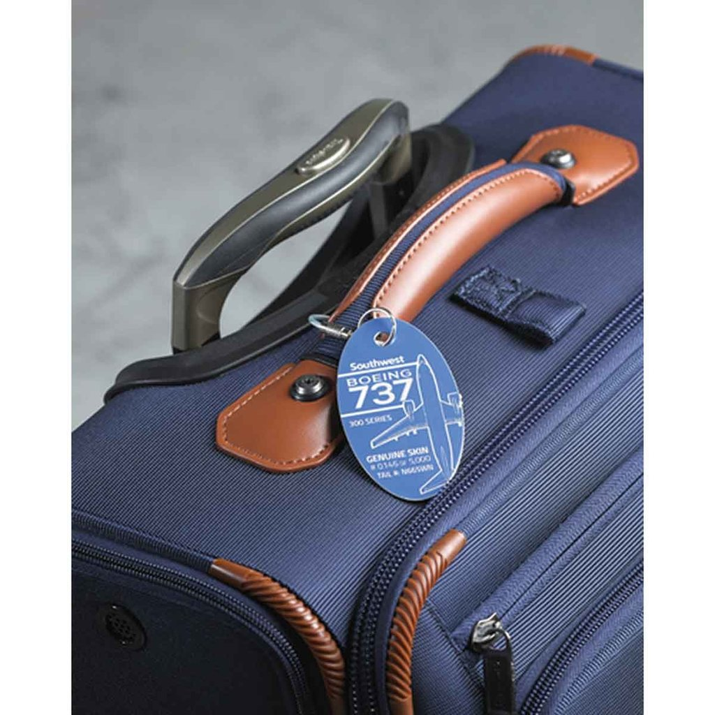 737-300 SW PlaneTag Limited -Blue