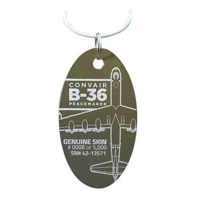 Convair B-36 Peacemaker PlaneTag