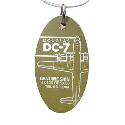 Boeing DC-7 Soplata PlaneTag Limited Edition