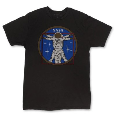 NASA Vitruvianaut T-shirt