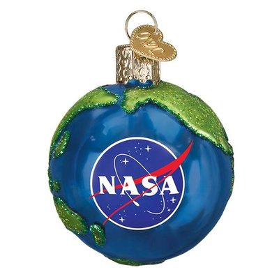 Old World Christmas NASA Earth Ornament