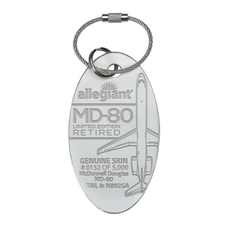 Allegiant MD-80 PlaneTag Limited Edition