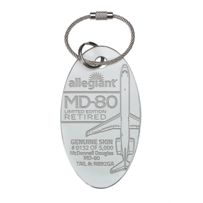 Allegiant MD-80 PlaneTag