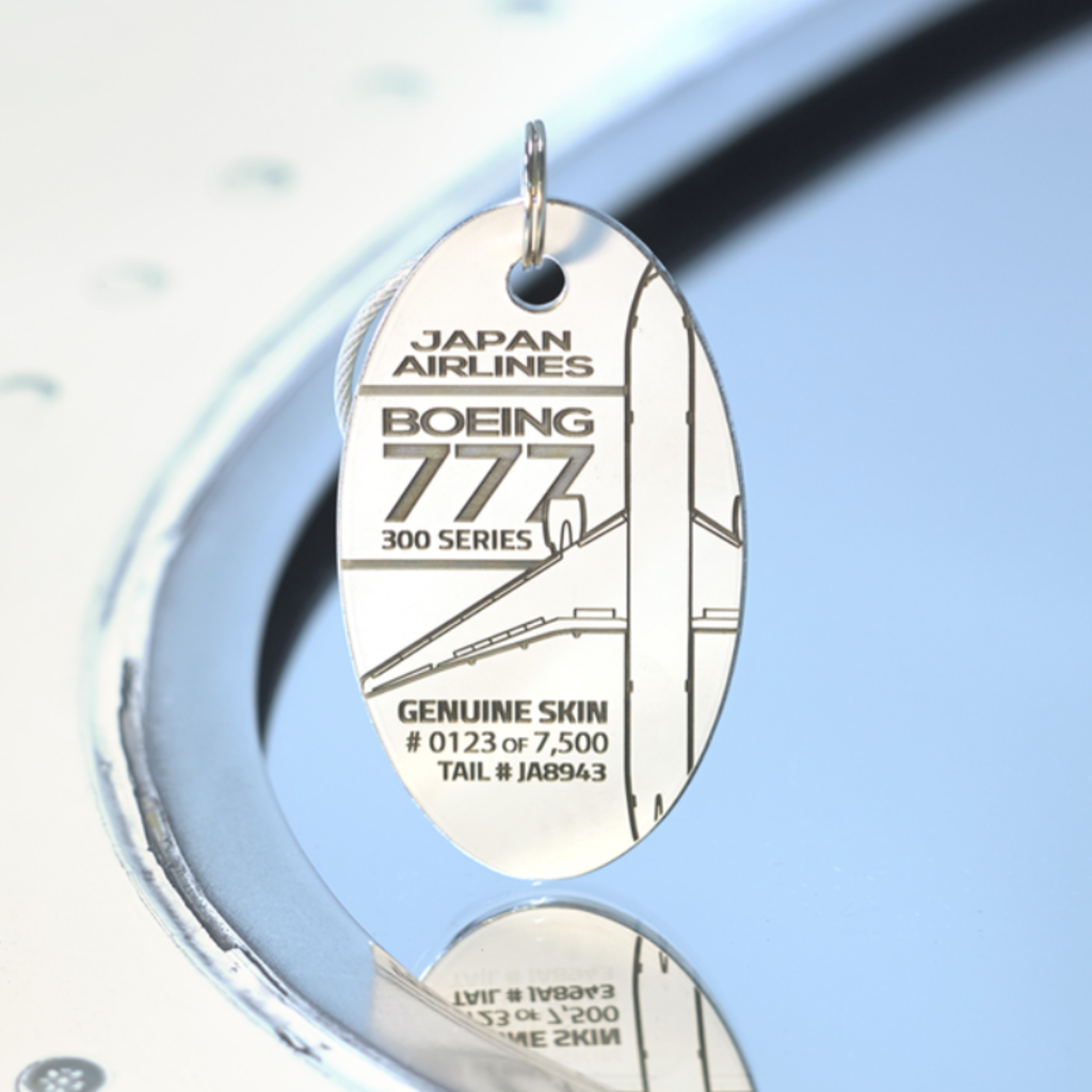 Boeing 777  Limited Edition PlaneTag