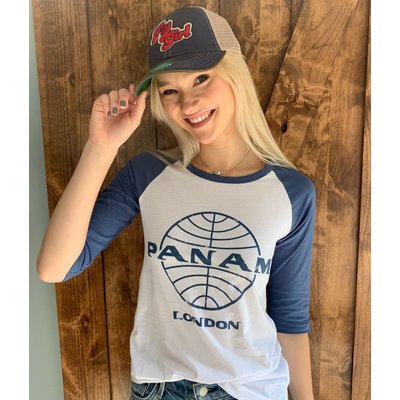 Pan Am British Invasion Baseball Tee