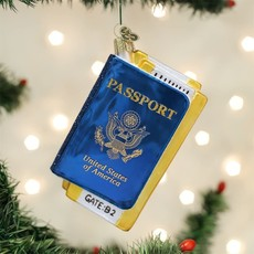 Old World Christmas Passport Ornament