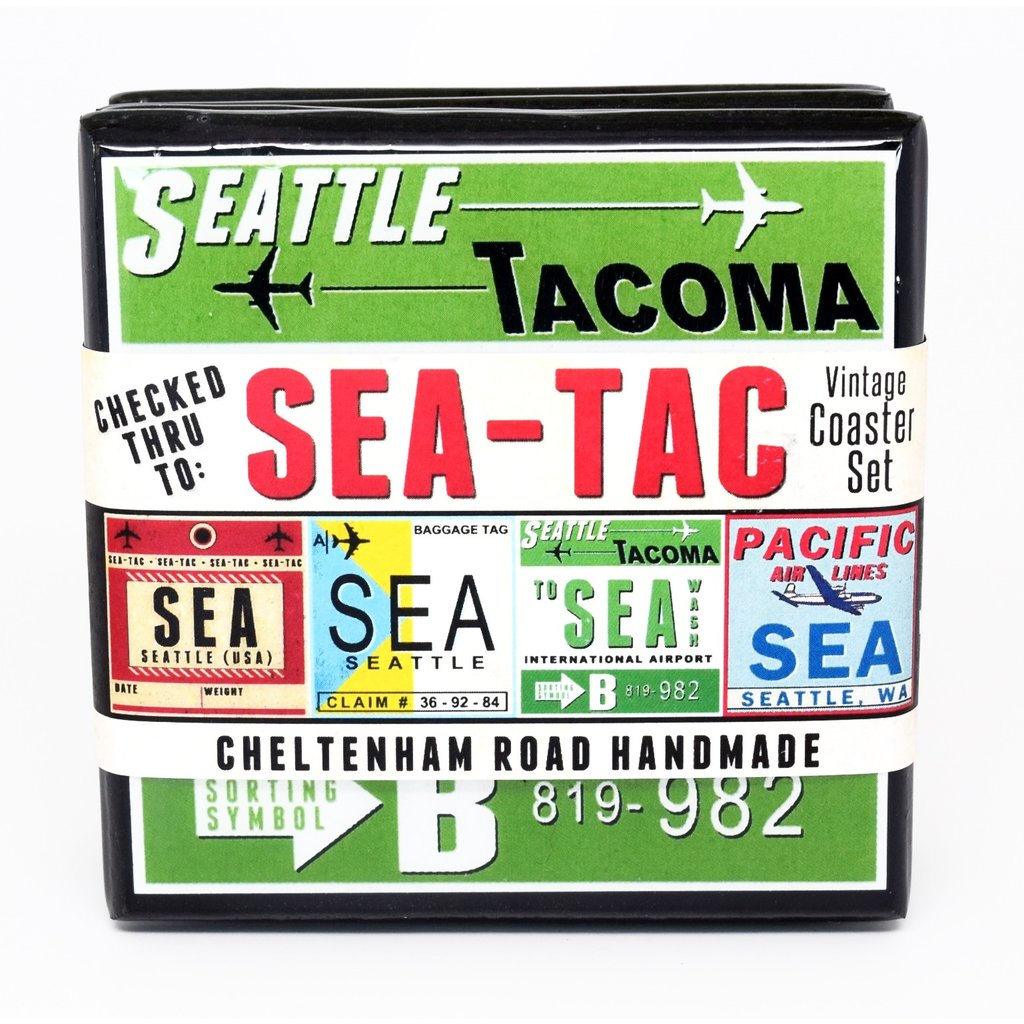 SEA Vintage Coaster Set