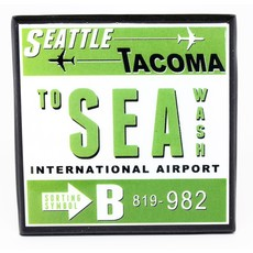 SEA (Tacoma) Vintage Coaster