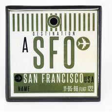 SFO Vintage Coaster