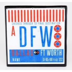 DFW Vintage Coaster