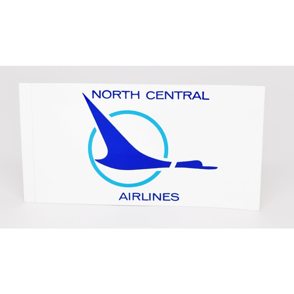 North Central 1970's Duck  Logo Sticker