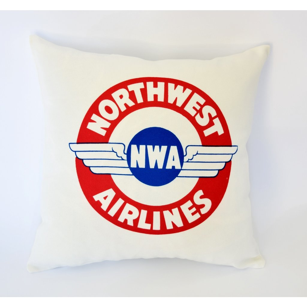 Northwest 1930s  Sticker Linen Pillow Cover