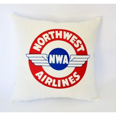Northwest 1930s  Sticker Linen Pillow Cover