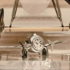 Art Deco Flight Desktop Clock