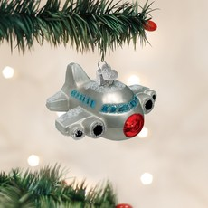 Old World Christmas Airplane Ornament