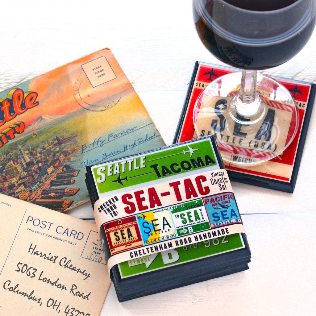 SEA Vintage Coaster Set