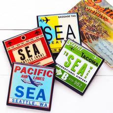 SEA Vintage Coaster