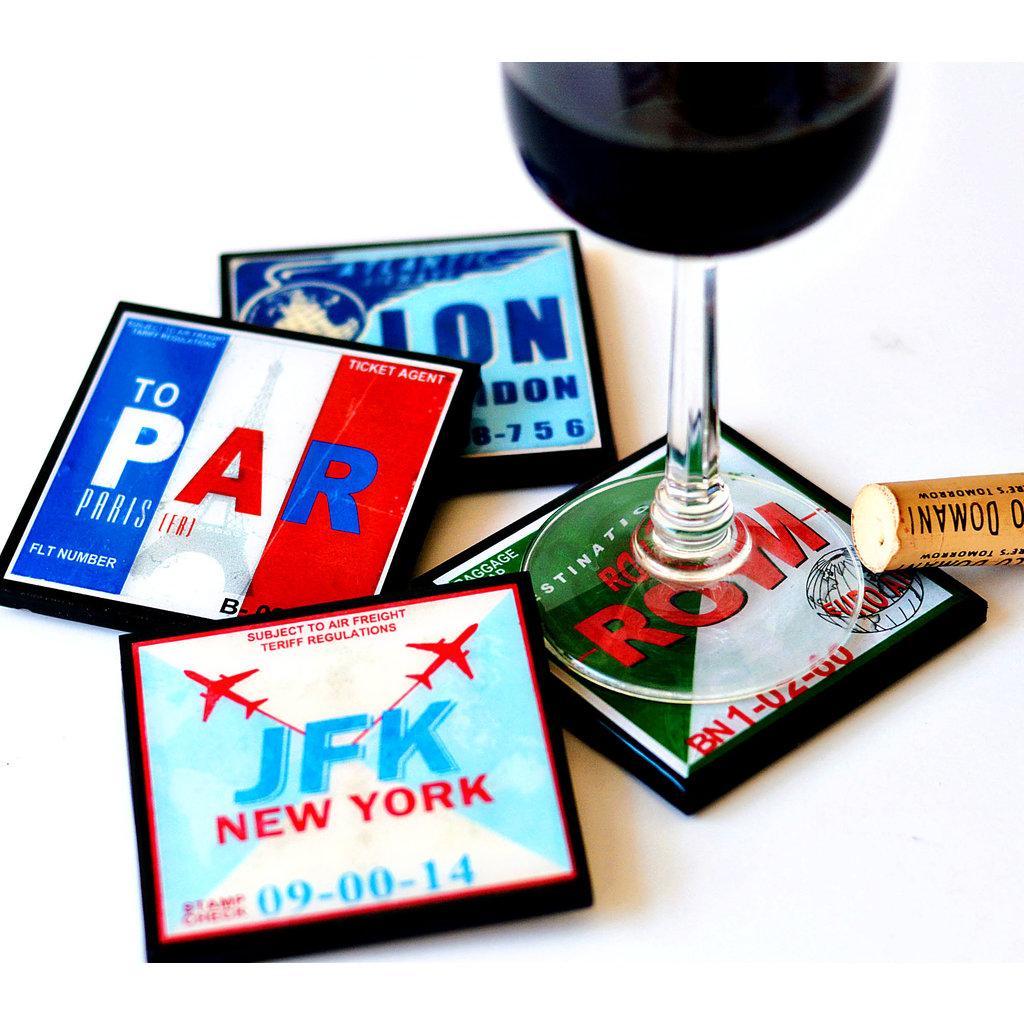 ROM Vintage Coaster