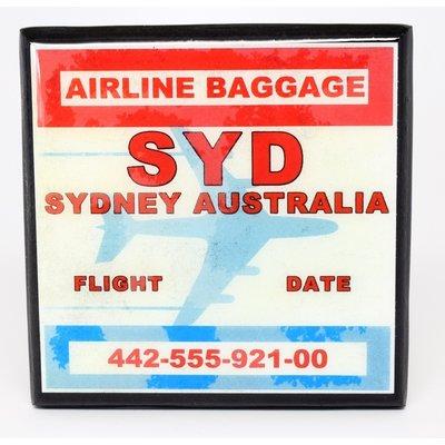 SYD Vintage Coaster