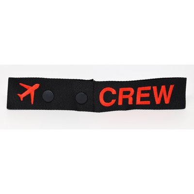 CREW Red Snap Tag