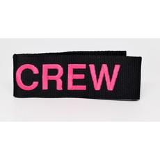 CREW Pink Snap Tag