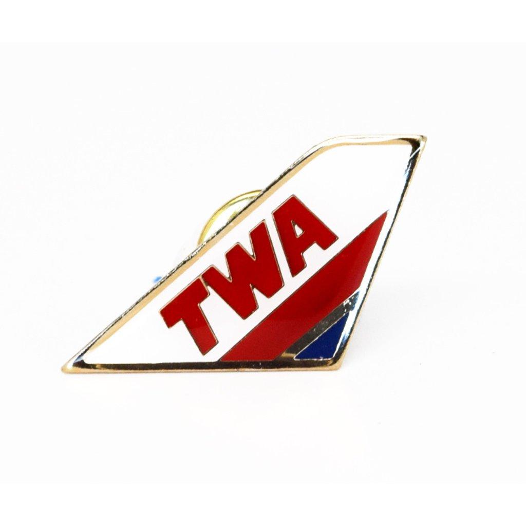Lapel Tail Pin TWA 90s