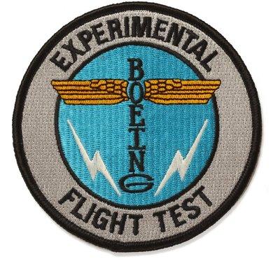 Boeing Totem Flight Test Patch-Disc.