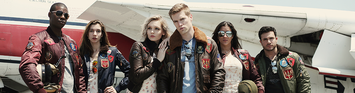 Flight Jackets category header