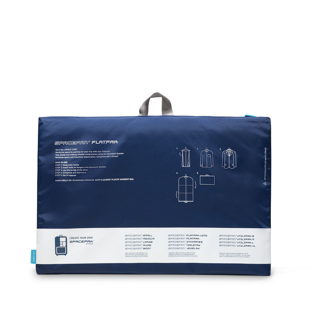 Spacepak Flatpak Suiter-Navy