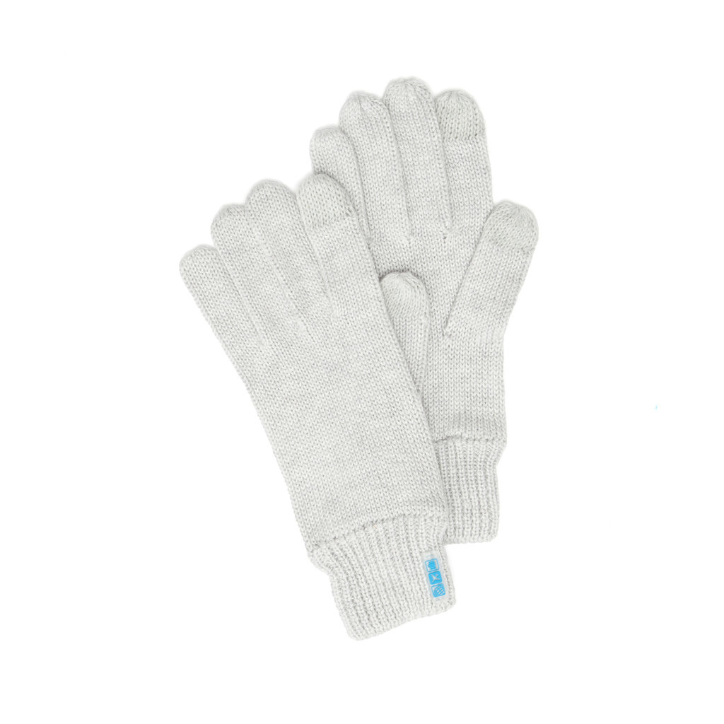 Bliss Texting Gloves-Light Grey