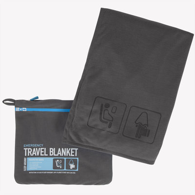 Travel Blanket Color Charcoal Grey