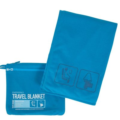 Travel Blanket Color Blue