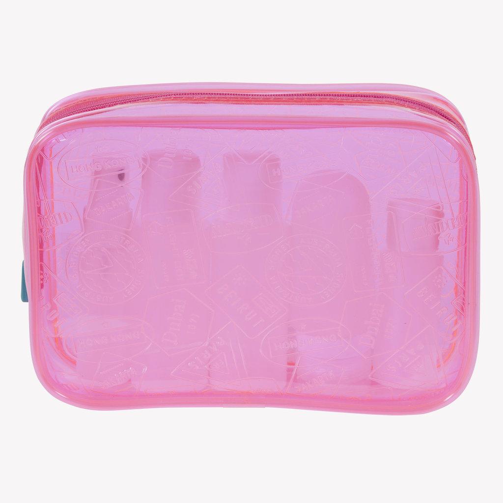 X-Ray Quart Bag Neon Pink