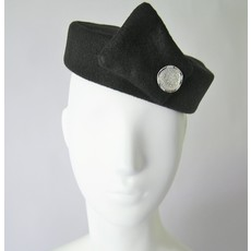 Flight Attendant Pill Box Hat: Size M Black