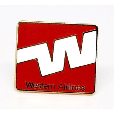 Western ('70s)  Logo Pin