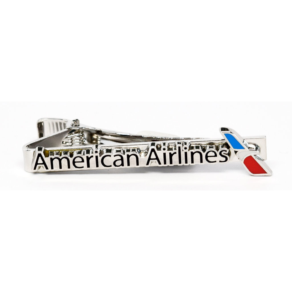 American Airlines Tie Bar