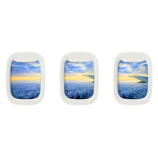 "Air-Frame MINI Set of 3  4""x6"" Frames"