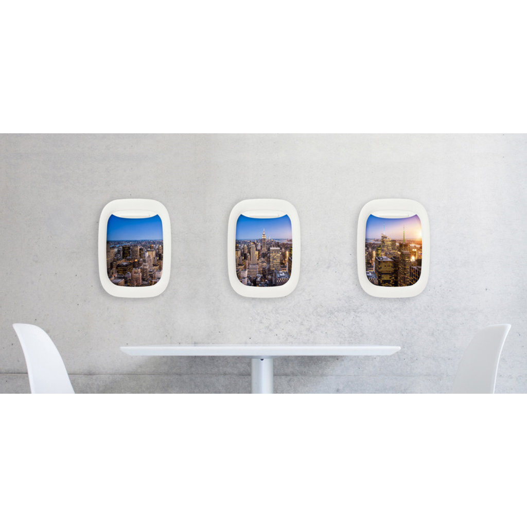 "Air-Frame Set of 3  8""x 10"" Frames"