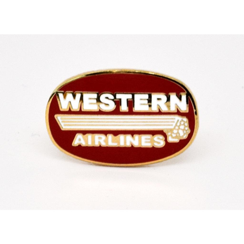 Western (50'-60s)  Logo Pin