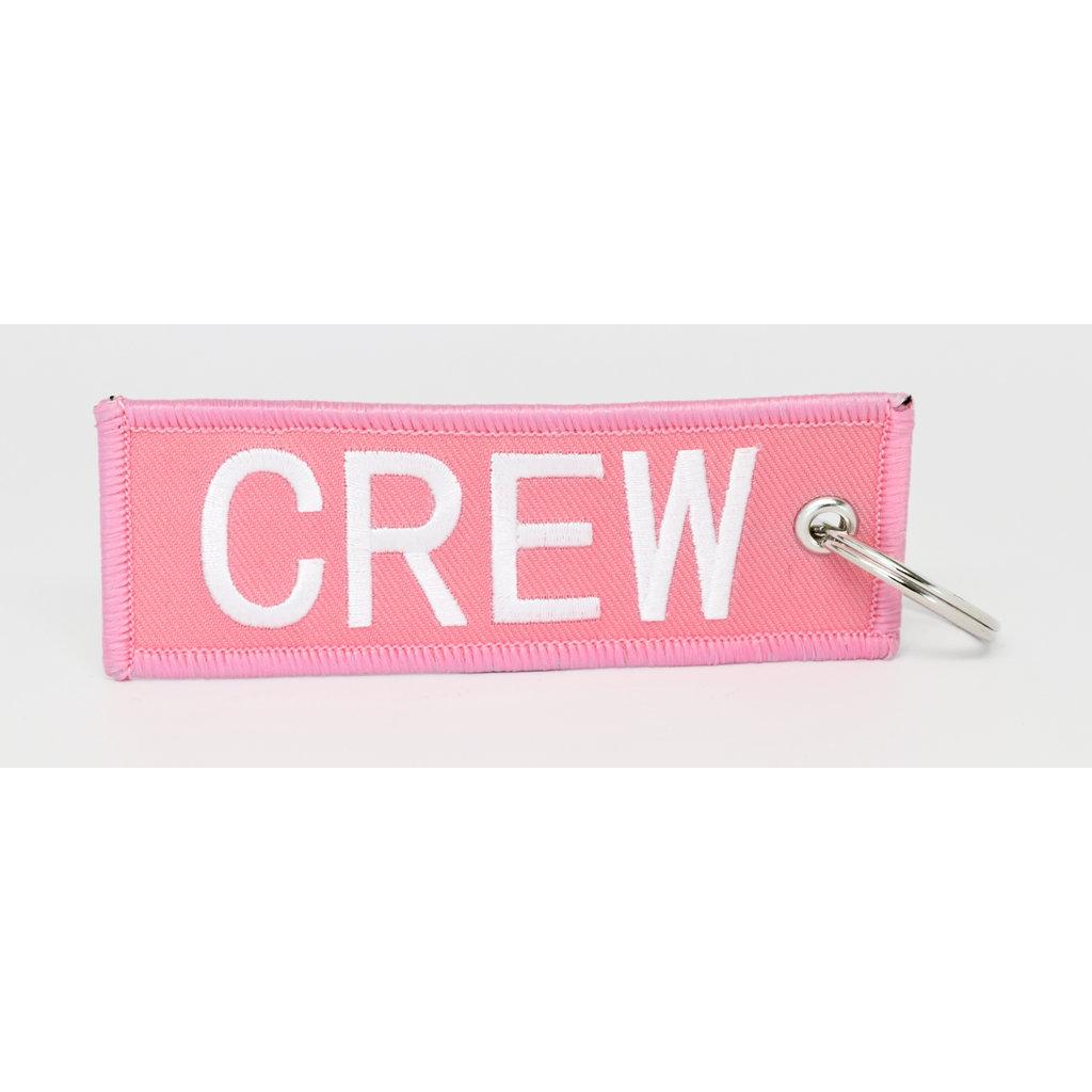 CREW Key Chain - Pink